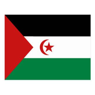 Western Sahara Flag Postcard