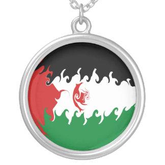 Western Sahara Gnarly Flag Necklaces