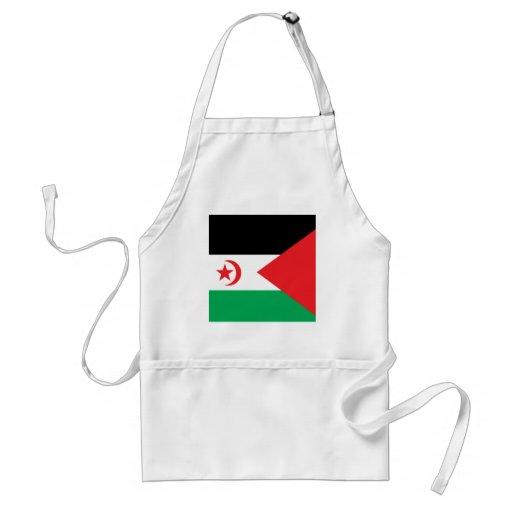Western Sahara High quality Flag Standard Apron