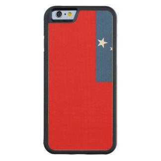 Western Samoa Flag Carved® Maple iPhone 6 Bumper