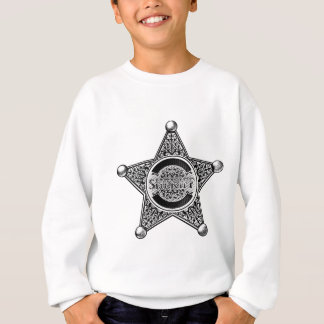 Western Sheriff Star Badge Sweatshirt