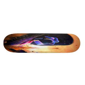 Western Skeleton Gunslinger Skateboard