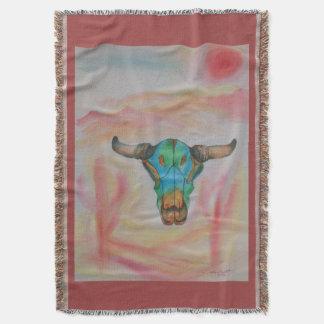 Western Spirit Throw Blanket