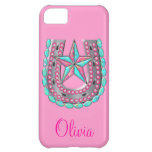 Western Star & Horseshoe Bling iPhone case iPhone 5C Cover