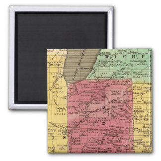 Western States 2 Square Magnet