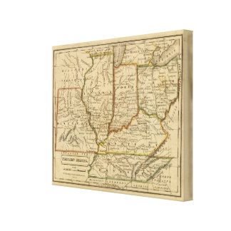 Western States Canvas Print