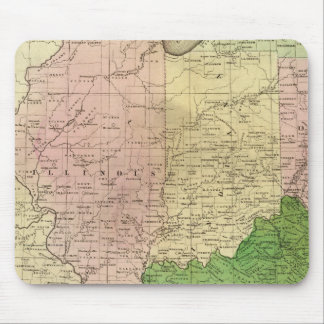 Western States Olney Map Mouse Mat