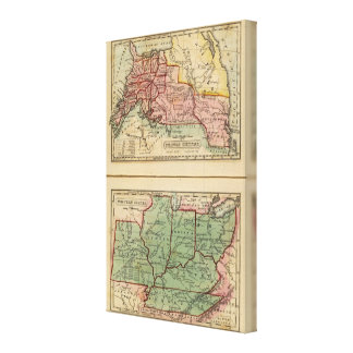 Western States, United States Canvas Print