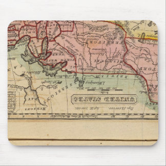 Western States, United States Mouse Mat