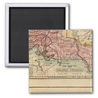 Western States, United States Square Magnet