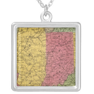 Western States, USA Silver Plated Necklace