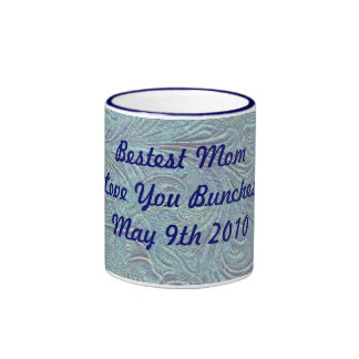 Western Style Bestest Mom Love You Bunches Mug