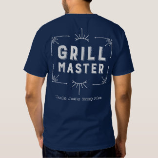Western Style Grillmaster BBQ Tees