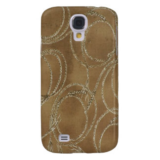 Western Style Rope Khaki 3G/3GS Galaxy S4 Case