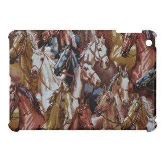 Western Theme Horses iPad Mini Glossy Finish Case iPad Mini Case