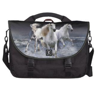 Western Theme Mystic Horses Laptop Bag