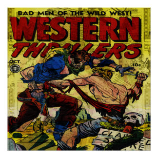 Western Thrillers Poster