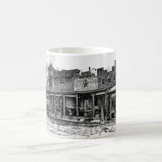 Western town coffee mug