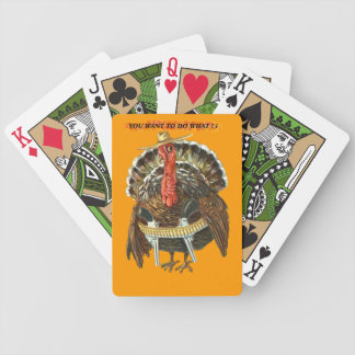 WESTERN TURKEY BICYCLE PLAYING CARDS