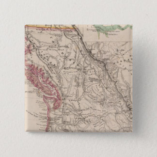 Western United States 15 Cm Square Badge
