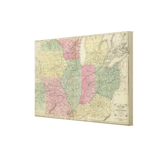Western US Canvas Print