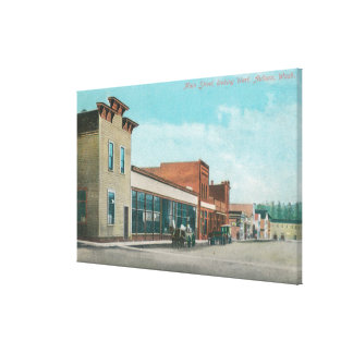 Western View from Main Street Canvas Print
