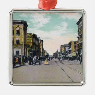 Western View from Main StreetBoise, ID Christmas Ornament
