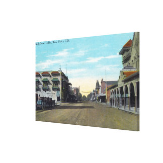 Western View from Main StreetVisalia, CA 2 Canvas Print