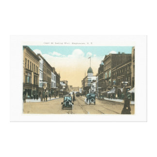 Western View of Court Street Canvas Print