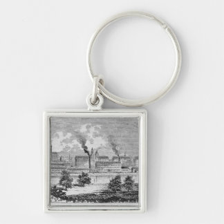 Western View of Manchester Key Ring