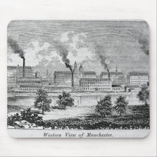 Western View of Manchester Mouse Mat