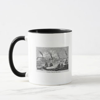 Western View of Manchester Mug