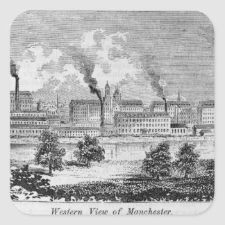 Western View of Manchester Square Sticker