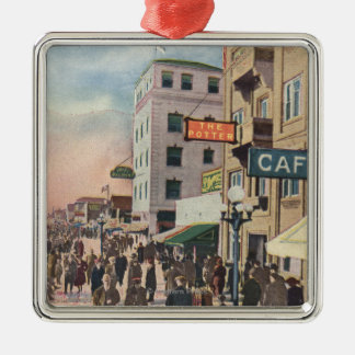 Western View of the Promenade Christmas Ornament