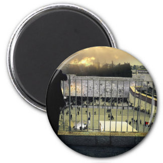 Western Wall, Jerusalem, Holy Land 6 Cm Round Magnet