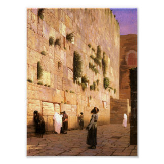 Western Wall Posters