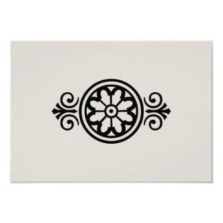 Western Wedding | RSVP Card 9 Cm X 13 Cm Invitation Card