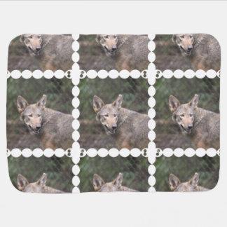 Western Wolf Buggy Blanket
