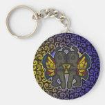 Western Zodiac - Gemini Keychain