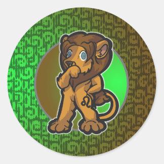 Western Zodiac - Leo Sticker