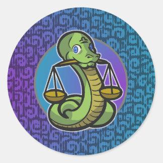 Western Zodiac - Libra Sticker