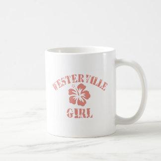 Westerville Pink Girl Basic White Mug