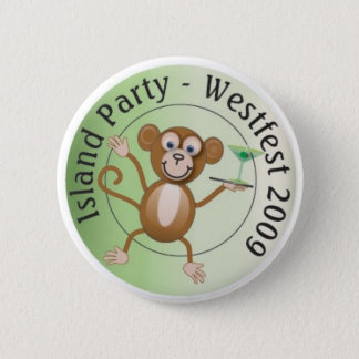 Westfest Island Monkey Button