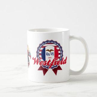 Westfield, IA Basic White Mug