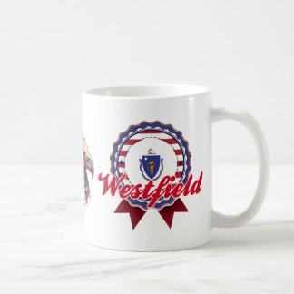 Westfield, MA Basic White Mug