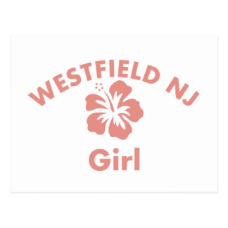 Westfield Pink Girl Postcard