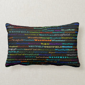 Westfield Text Design I Lumbar Pillow Throw Cushion