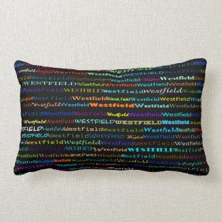 Westfield Text Design I Lumbar Pillow Throw Cushion