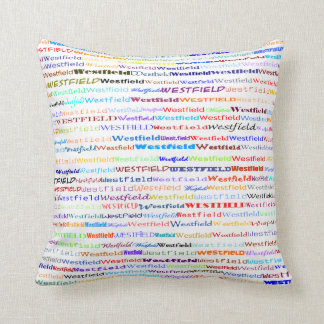Westfield Text Design II Throw Pillow Cushions