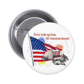 Westie – American Dream Pinback Buttons
